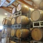 Barrel Room at Truro Vineyards