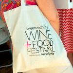 greenwich logo on bag