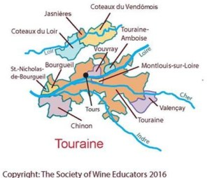 Touraine Map