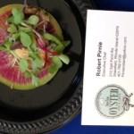Tuna and Radish Taco