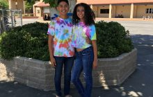 Justin Carrasco '19, and Alyssa Nunez '19.
