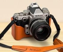 The retro looks of the Nikon Df