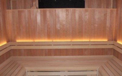 Hemlock Sauna for Cheshire Wellness