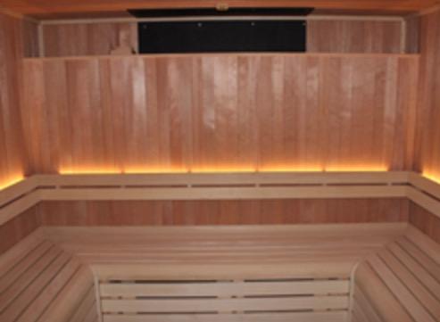 Hemlock Sauna for Cheshire Wellness