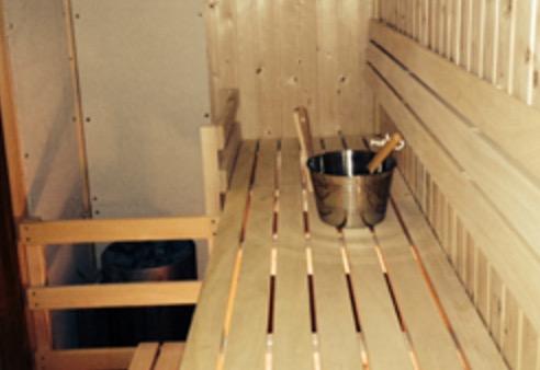 The George Hotel Sauna Refurbishment