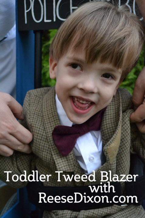 Toddler Tweed Blazer