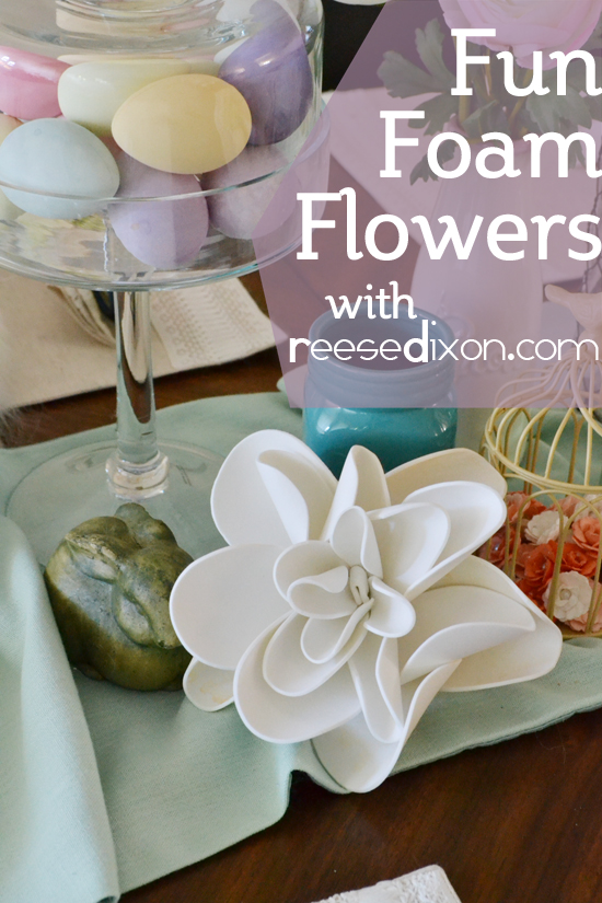Fun Foam Flowers