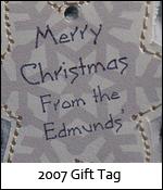 2008 Gift Tag