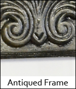 Antiqued Frame