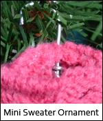 Mini Sweater Ornament