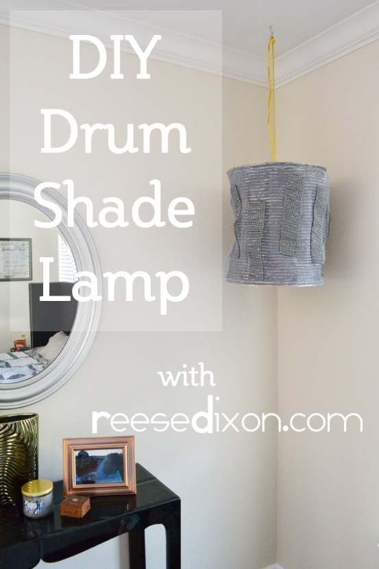 Drum Shade Lamp