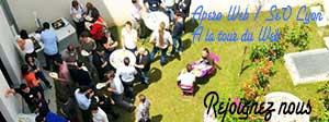 Apero SEO/Web le 1/09 à la Tour du Web #AperoSeoLyon