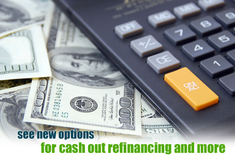Refinance Home Loans with Bad Credit Scores - Shop Refi Guide - cash out refi calculator