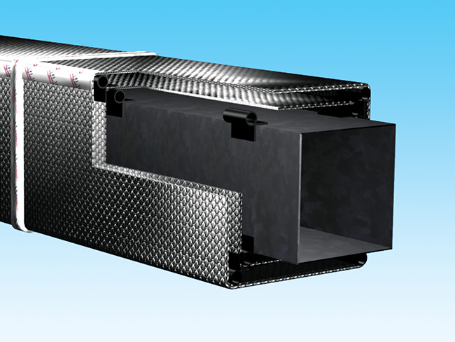 Duct Insulation Outdoor R 80 Reflectix Inc