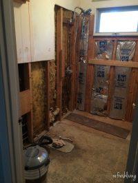 1970s Bathroom Remodel | One Room Challenge (Week 2 ...