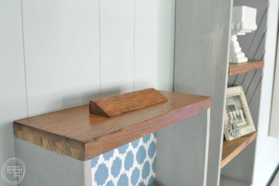 shelves from old drawers 2
