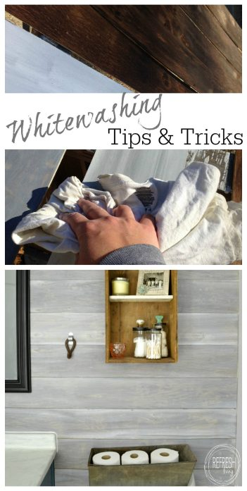 the best way to whitewash wood | tips and tricks for whitewashing wood | create look of barn wood