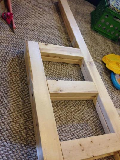 project made with 2 x 4s