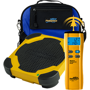 wireless refrigerant weigh platform