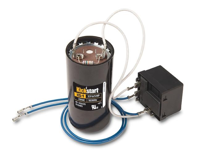 35-50 ton maximum torque Hard Start Device for single phase 208V