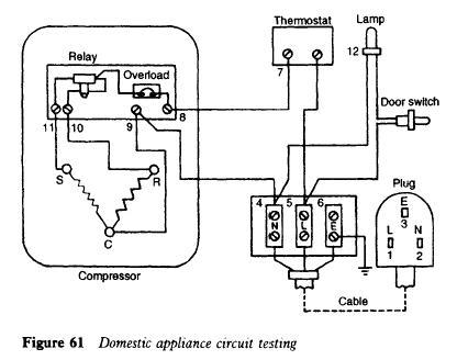 Domestic Refrigerator Wiring Diagram Wiring Diagrams