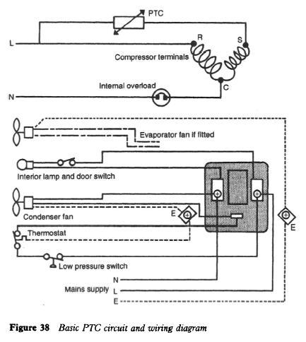 Refrigerator Positive Temperature Coefficient Refrigerator