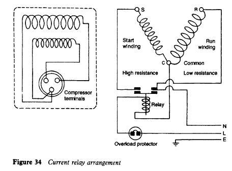Refrigerator Current Relay Refrigerator Troubleshooting Diagram