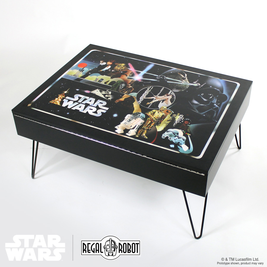 Classic Collector Case Storage Table