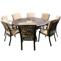 Round Patio Table Seats 8 Images - Bar Height Dining Table Set