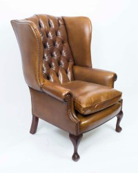 Leather Wing Back Chairs | www.imgkid.com - The Image Kid ...