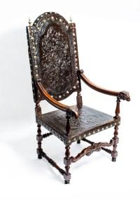 Antique Throne Chair | Antique Furniture