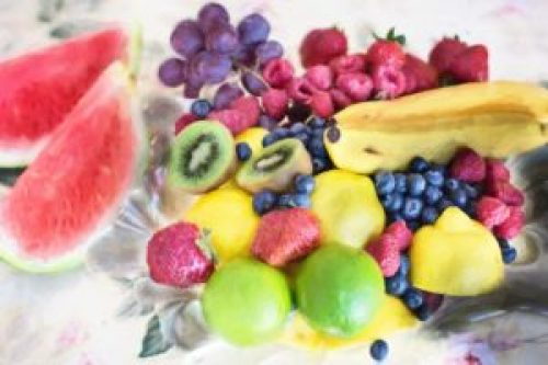 elegant fruit tray