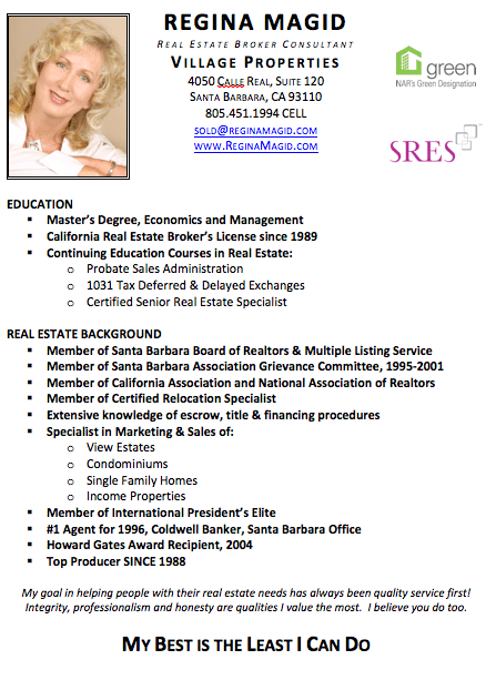 resume skills real estate agent real estate agent job description resume and cover reginamagid santa barbara