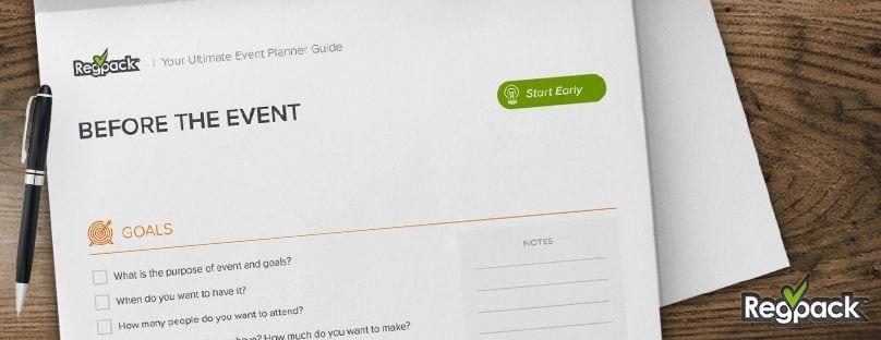 Event Planning Checklist Event Checklist Free Download - Regpack