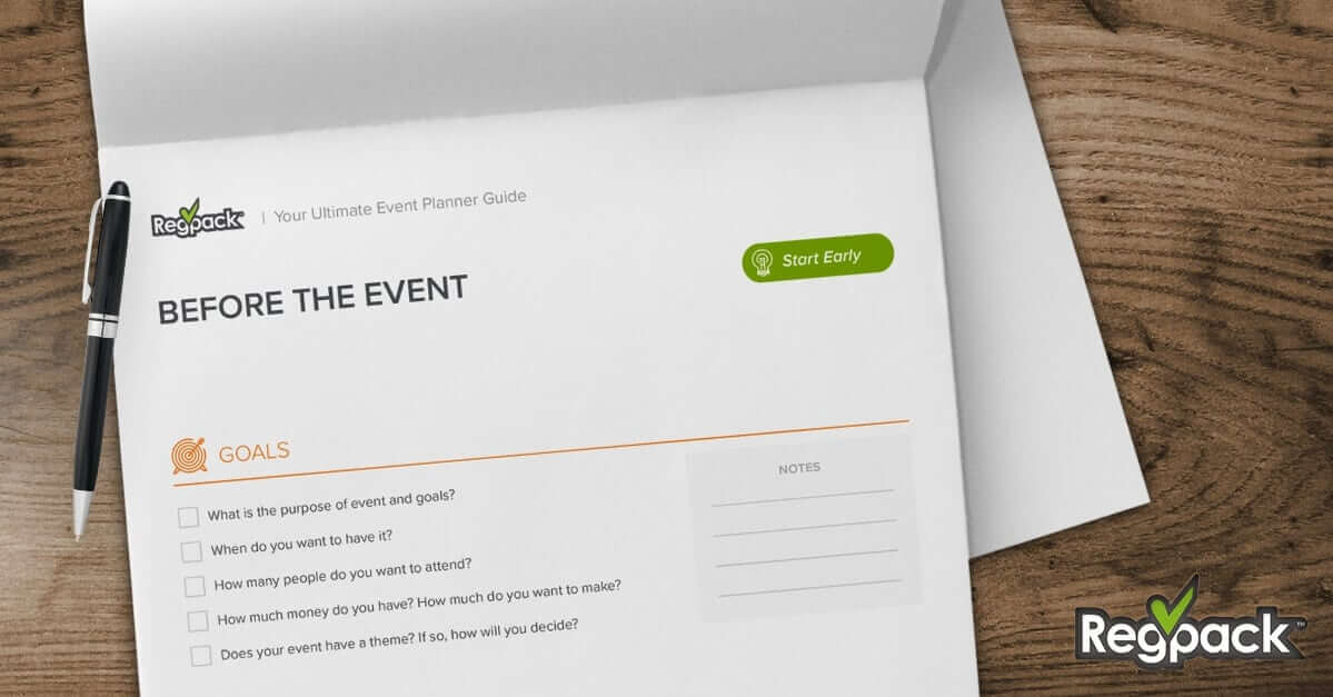 Event Planning Checklist Event Checklist Free Download - Regpack