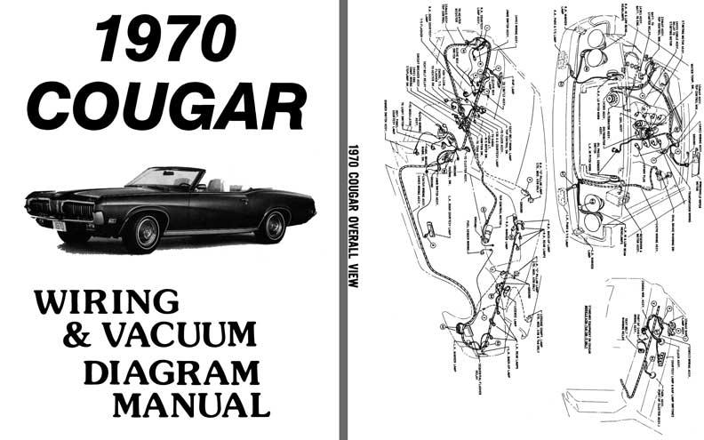 1970 cougar wiring diagram