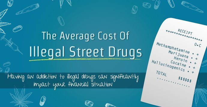 The Average Cost Of Illegal Drugs On The Street