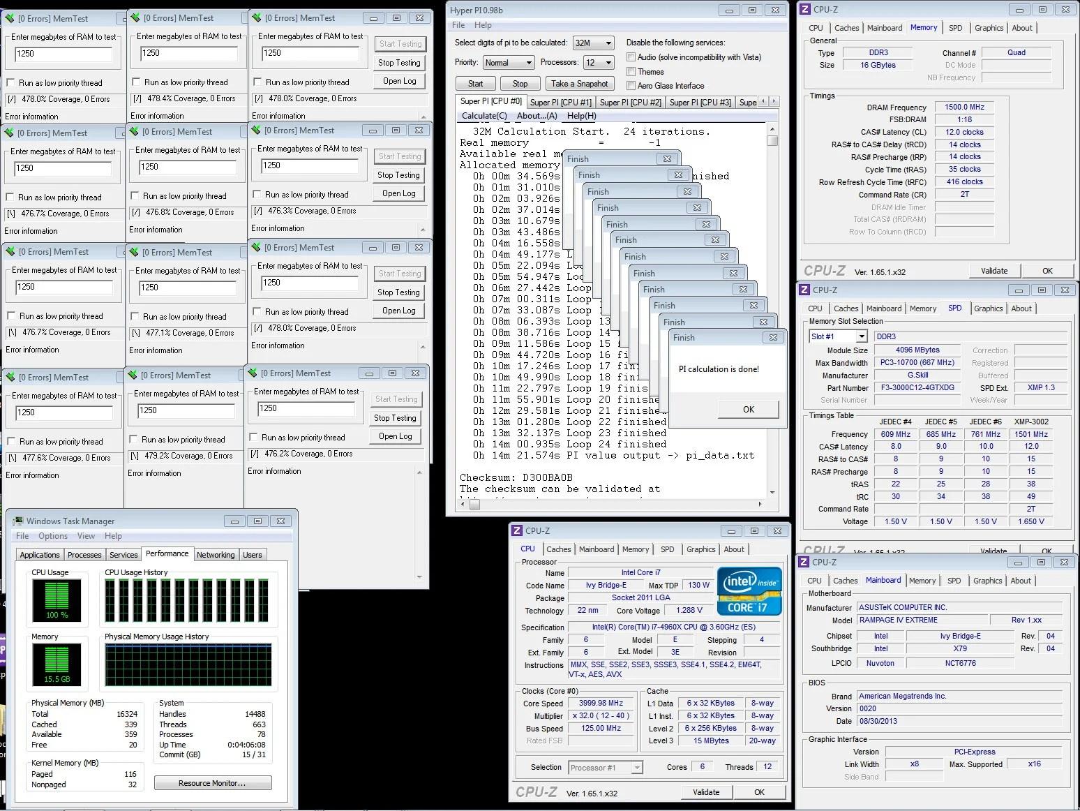 G.Skill espande la famiglia RipjawsZ con 15 kit DDR3 Quad Channel