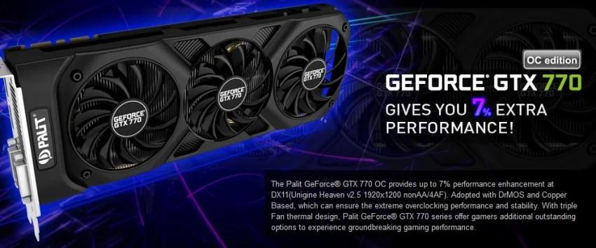 Palit presenta la GTX 770 in versione OC
