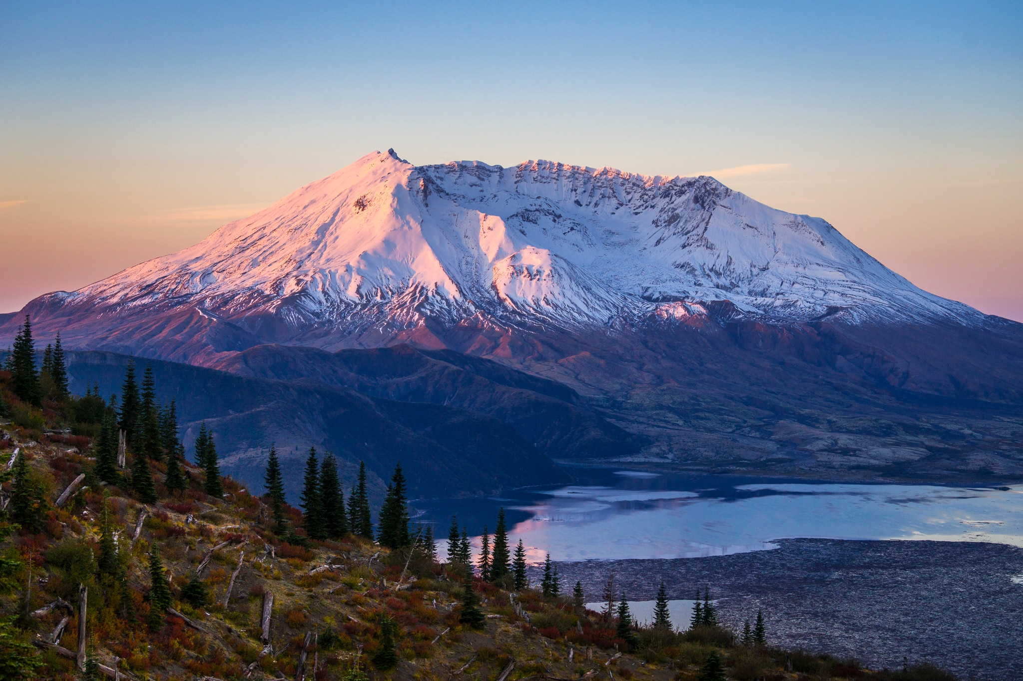 Pretty Wallpapers For Fall Trail Running At Mount St Helens