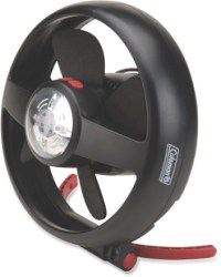 Coleman CPX 6 Lighted Tent Fan with Stand at REI