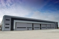 Aircraft Hangars, Steel Airplane Hangar Design and