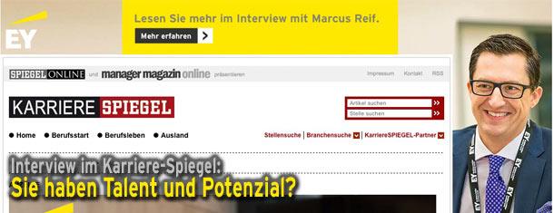 Interview karriere spiegel sie haben talent und potenzial for Spiegel karriere