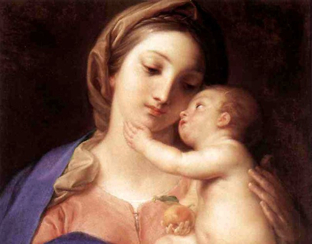 Madonna and Child by Pompeo Batoni