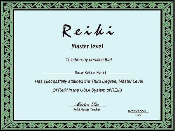 Reiki Certificate Template Software Reiki Certificate Templates