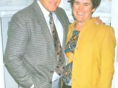 Our parents - the founders of Reilly's , Kevin and Marlene Reilly in the early years.