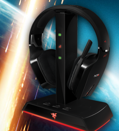 Mass Effect 3 Razer keyboard mouse headset gaming image 002