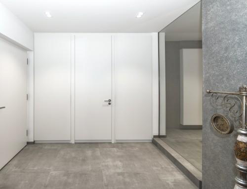 Einbau-Schrankwand Badezimmer mit Spiegelschrank u2013 Reiner Knabl - badezimmer einbau