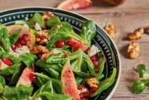 Wintersalat mit Senfvinaigrette und Feigen 2