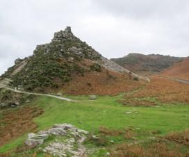 Aussicht auf die Steine des Valley of Rocks